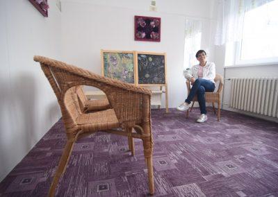 Denní společenská místnost